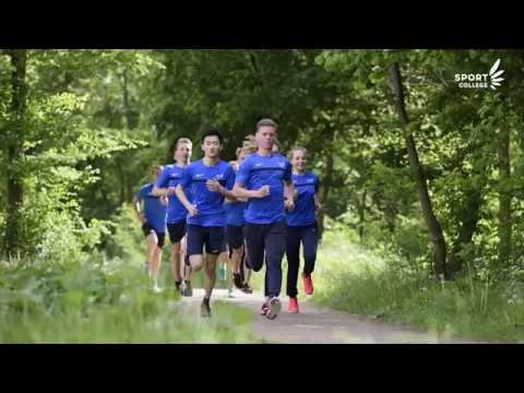 YouTube video - Sport College in actie