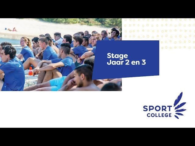 YouTube video - Stage keuzedelen Niveau 3 & 4