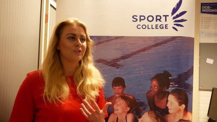 YouTube video - Studenten en docenten over het Sport College