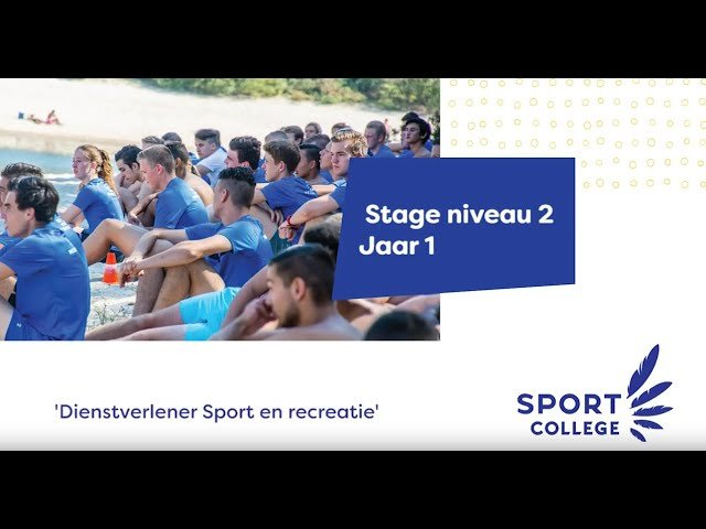 YouTube video - Stage Niveau 2 - jaar 1
