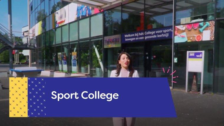 YouTube video - Rondleiding Sport College in Utrecht