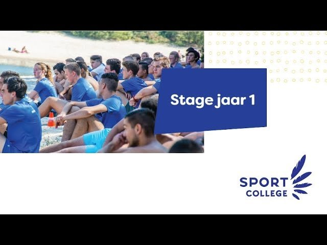 YouTube video - Stage Niveau 3-4 - Jaar 1