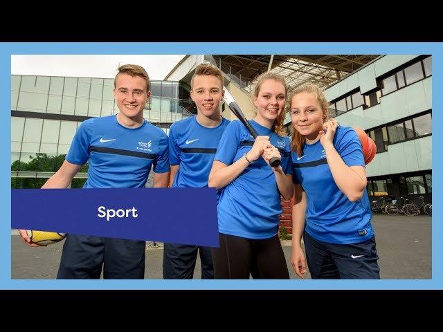 YouTube video - Voorlichting Sport College 12 mei terugkijken