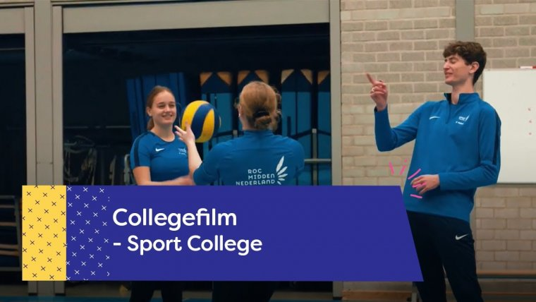 YouTube video - Sport College in Amersfoort